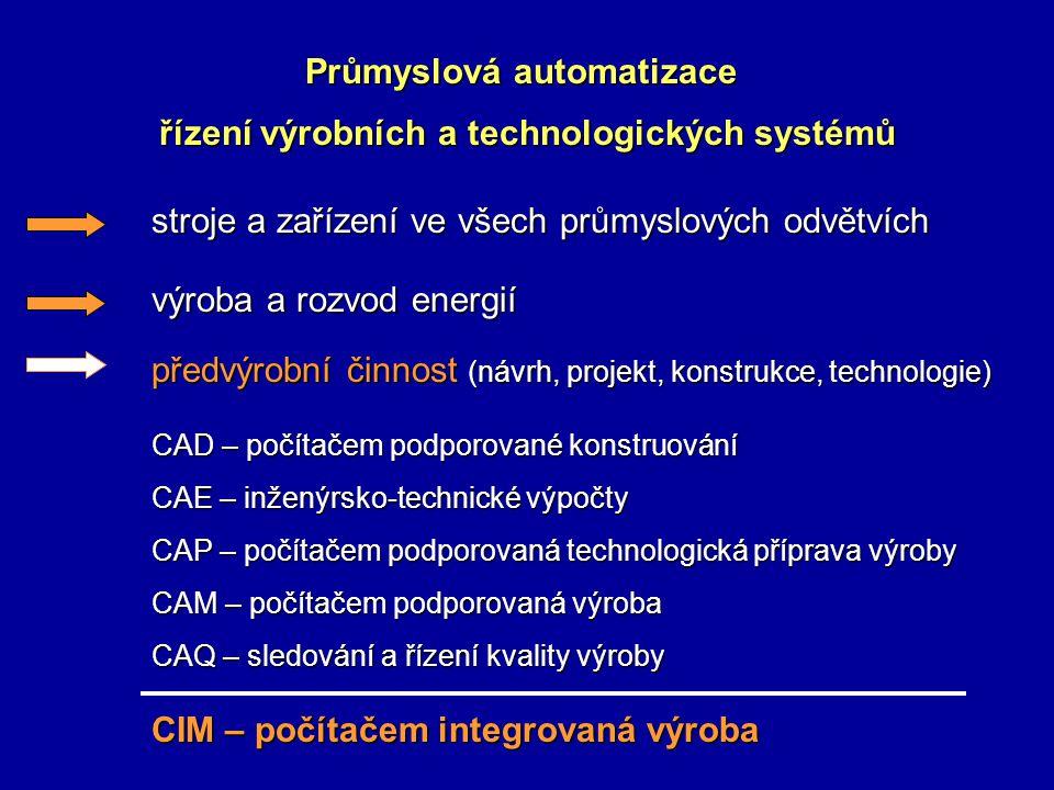 řízení výrobních a technologických systémů