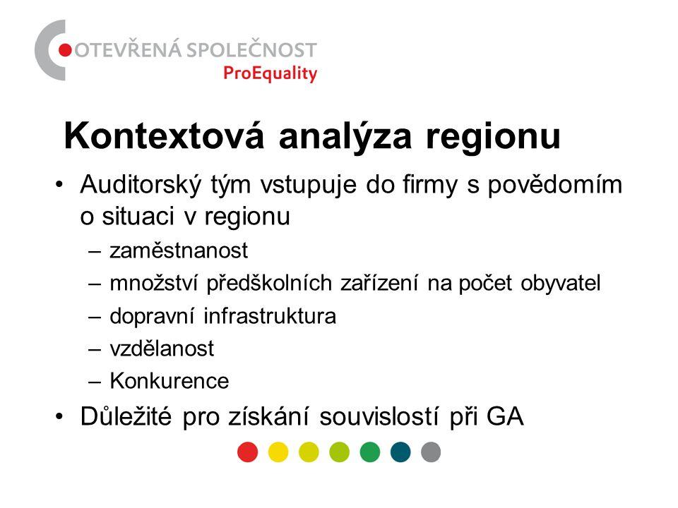 Kontextová analýza regionu