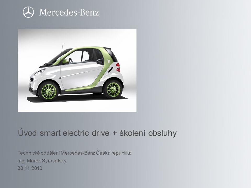 Úvod smart electric drive + školení obsluhy