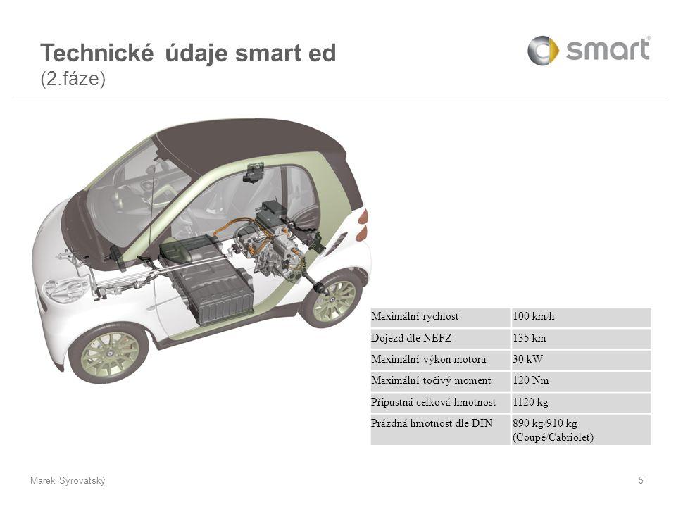 Technické údaje smart ed (2.fáze)