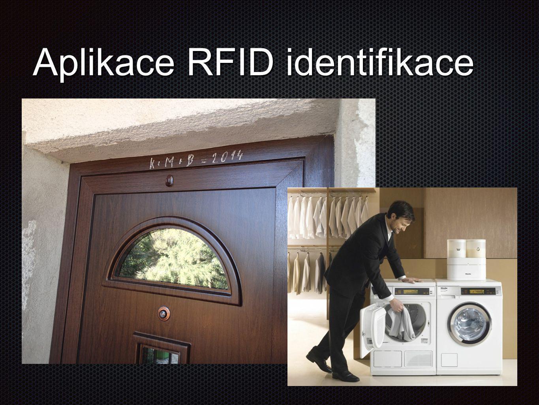 Aplikace RFID identifikace