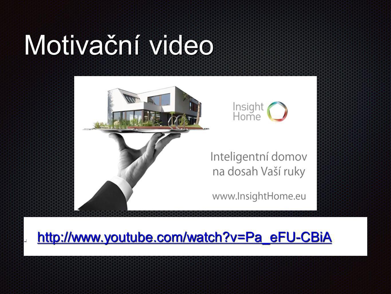Motivační video http://www.youtube.com/watch v=Pa_eFU-CBiA