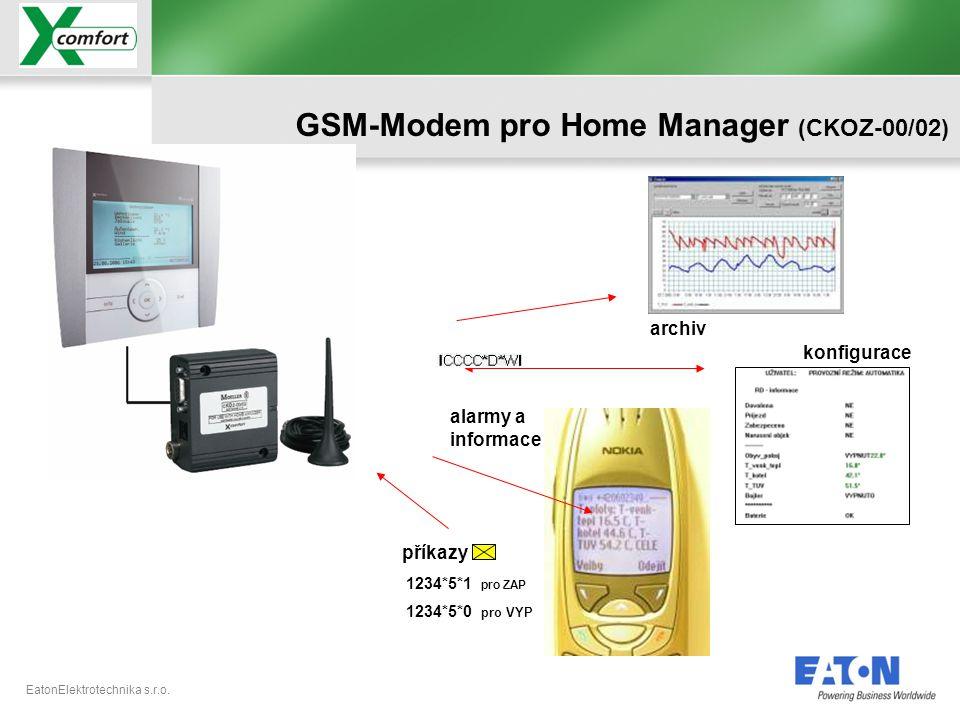 GSM-Modem pro Home Manager (CKOZ-00/02)