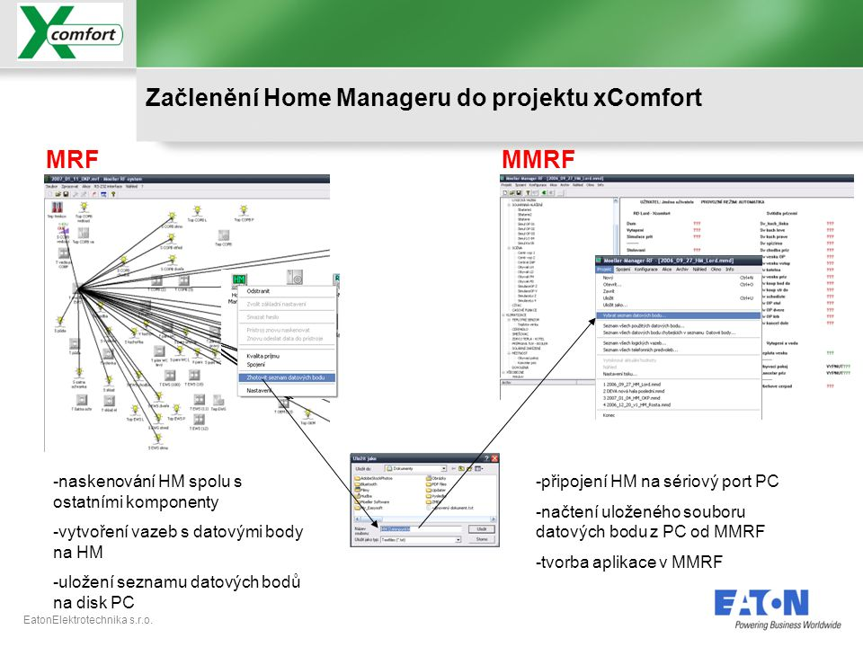Začlenění Home Manageru do projektu xComfort