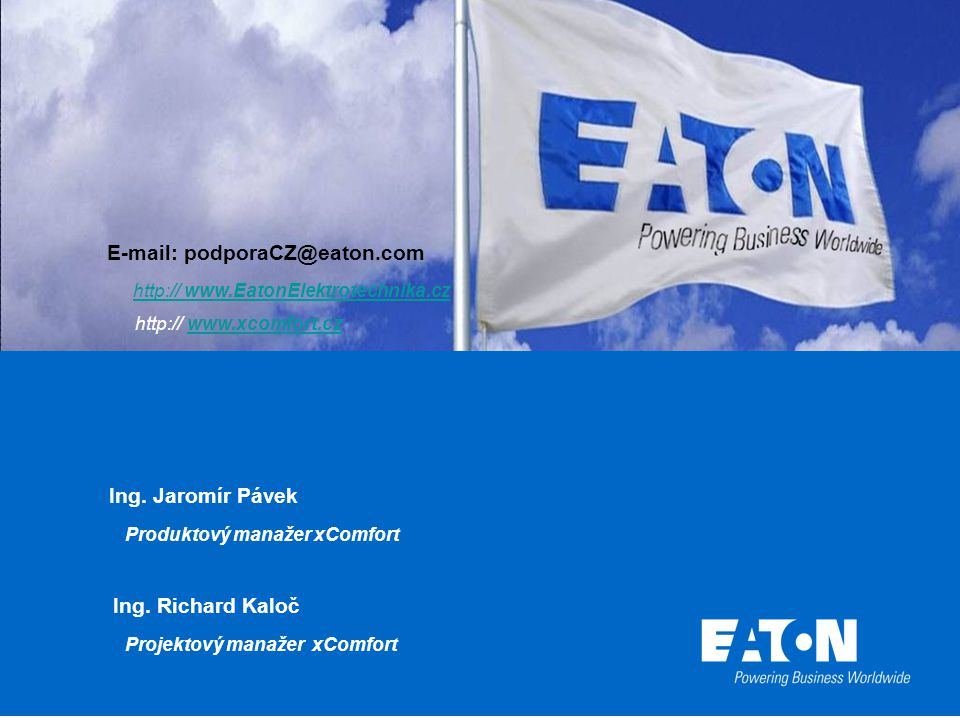 E-mail: podporaCZ@eaton.com
