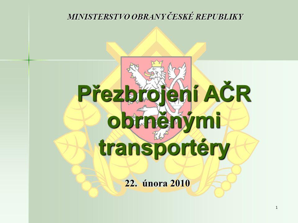 Přezbrojení AČR obrněnými transportéry