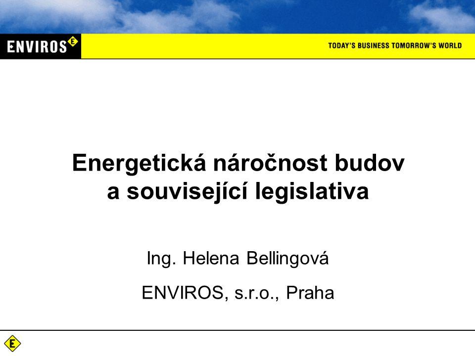 Energetická náročnost budov a související legislativa