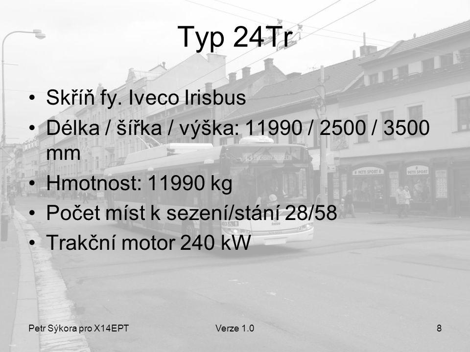 Typ 24Tr Skříň fy. Iveco Irisbus