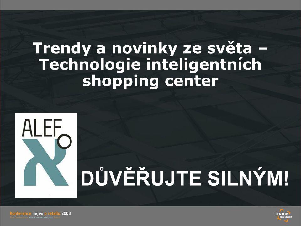 Trendy a novinky ze světa – Technologie inteligentních shopping center
