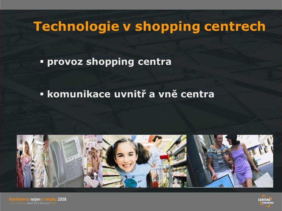 Technologie v shopping centrech