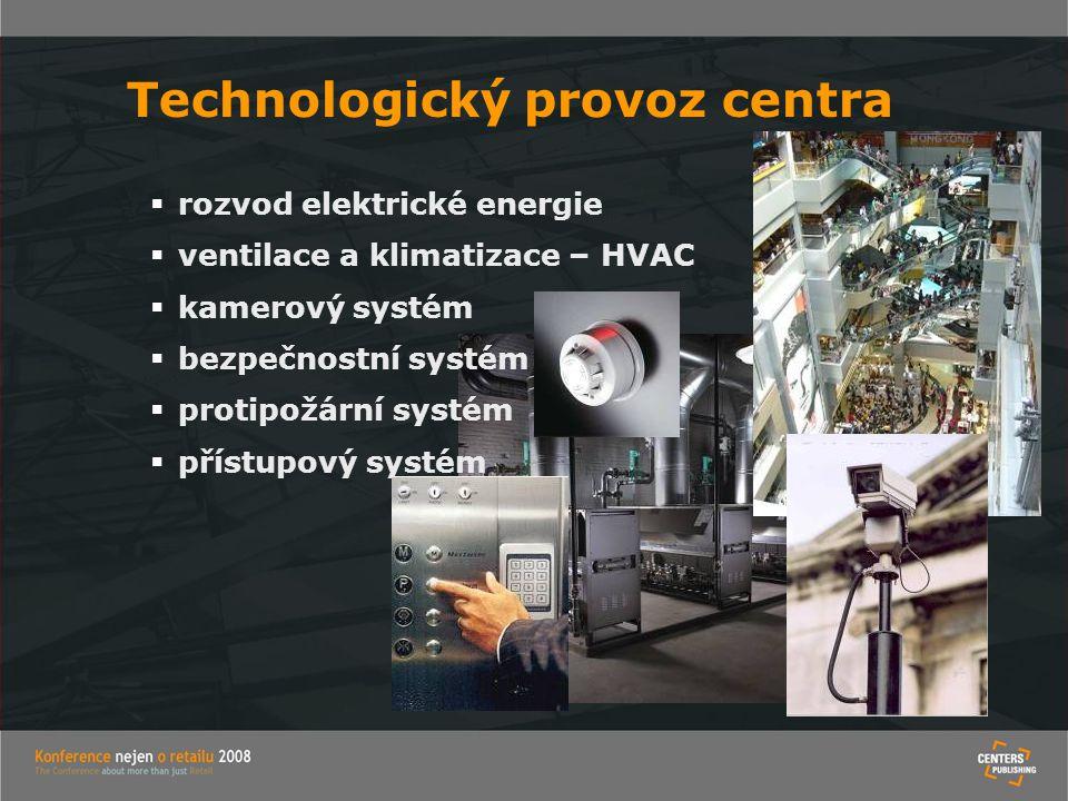Technologický provoz centra