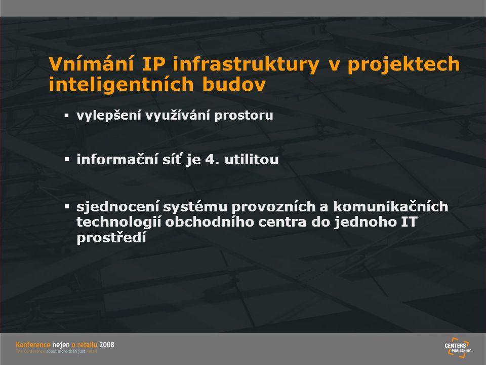 Vnímání IP infrastruktury v projektech inteligentních budov
