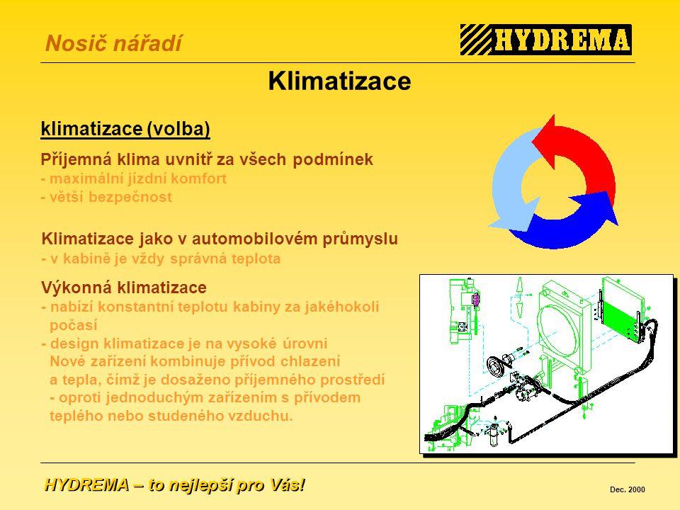 Klimatizace klimatizace (volba)