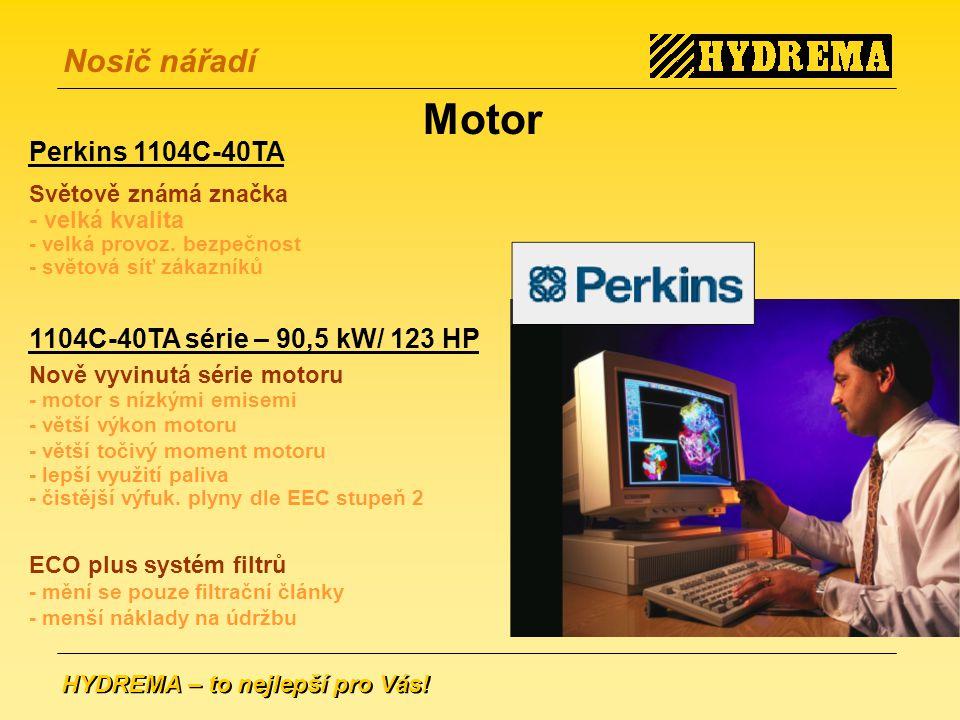 Motor Perkins 1104C-40TA 1104C-40TA série – 90,5 kW/ 123 HP