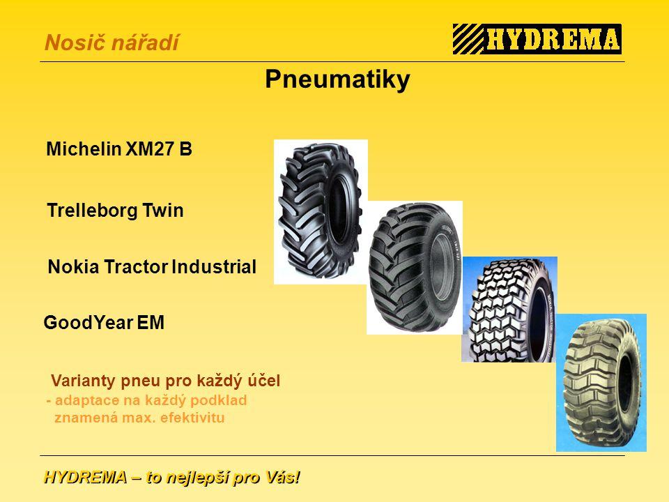 Pneumatiky Michelin XM27 B Trelleborg Twin Nokia Tractor Industrial