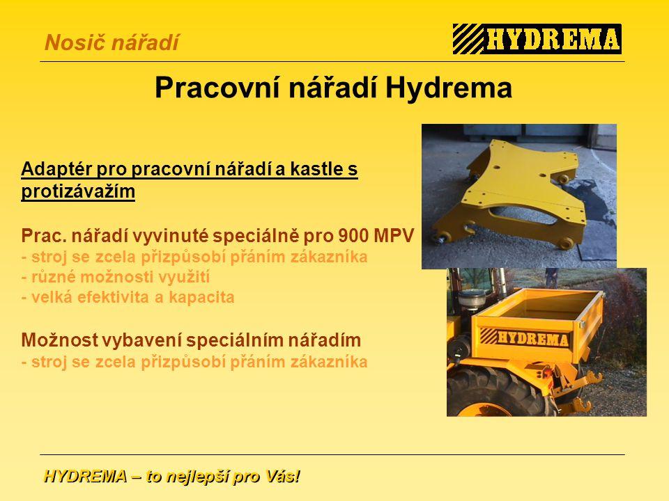 Pracovní nářadí Hydrema