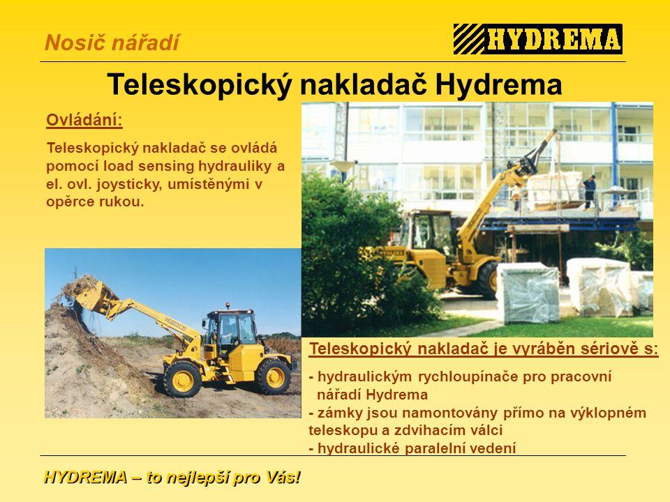 Teleskopický nakladač Hydrema