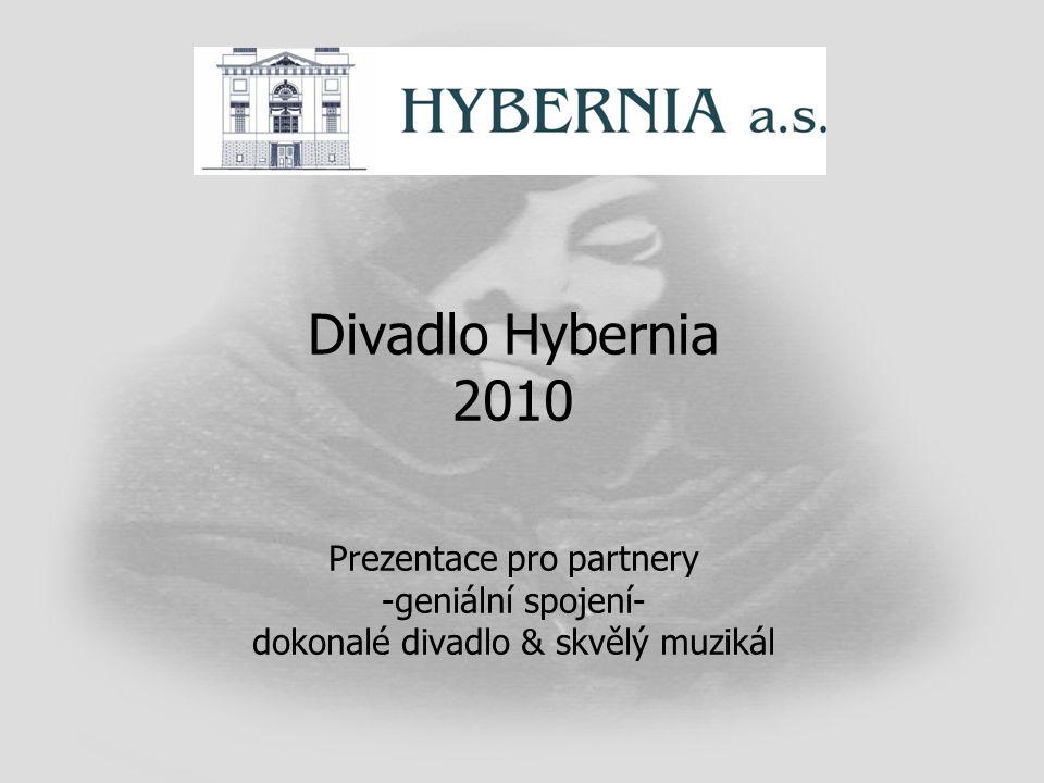 Divadlo Hybernia 2010 Prezentace pro partnery -geniální spojení- dokonalé divadlo & skvělý muzikál