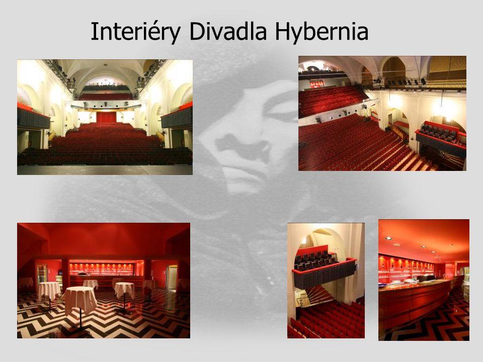 Interiéry Divadla Hybernia