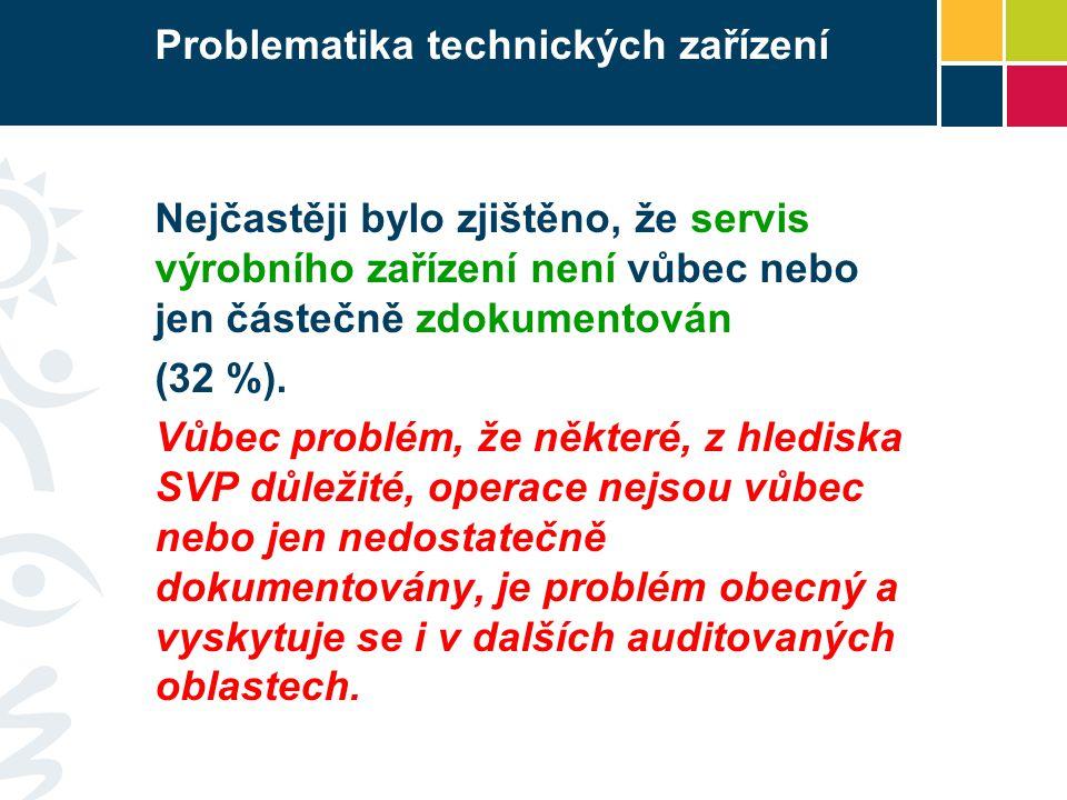 Problematika technických zařízení