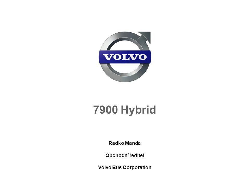 Radko Manda Obchodní ředitel Volvo Bus Corporation