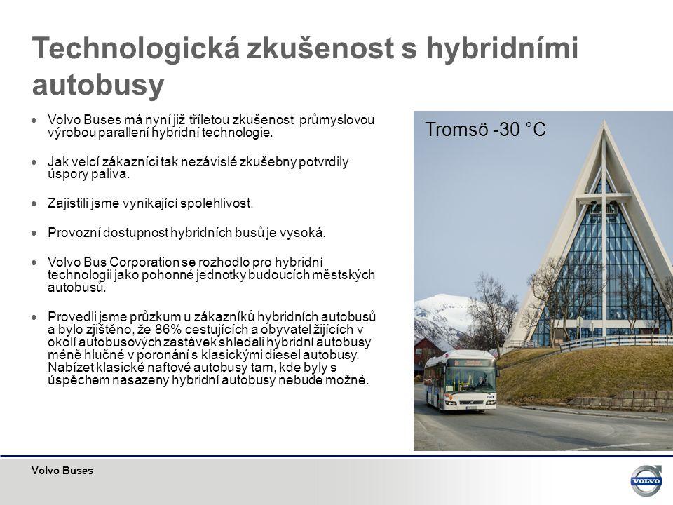 Technologická zkušenost s hybridními autobusy