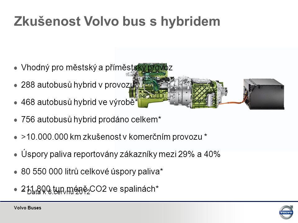Zkušenost Volvo bus s hybridem