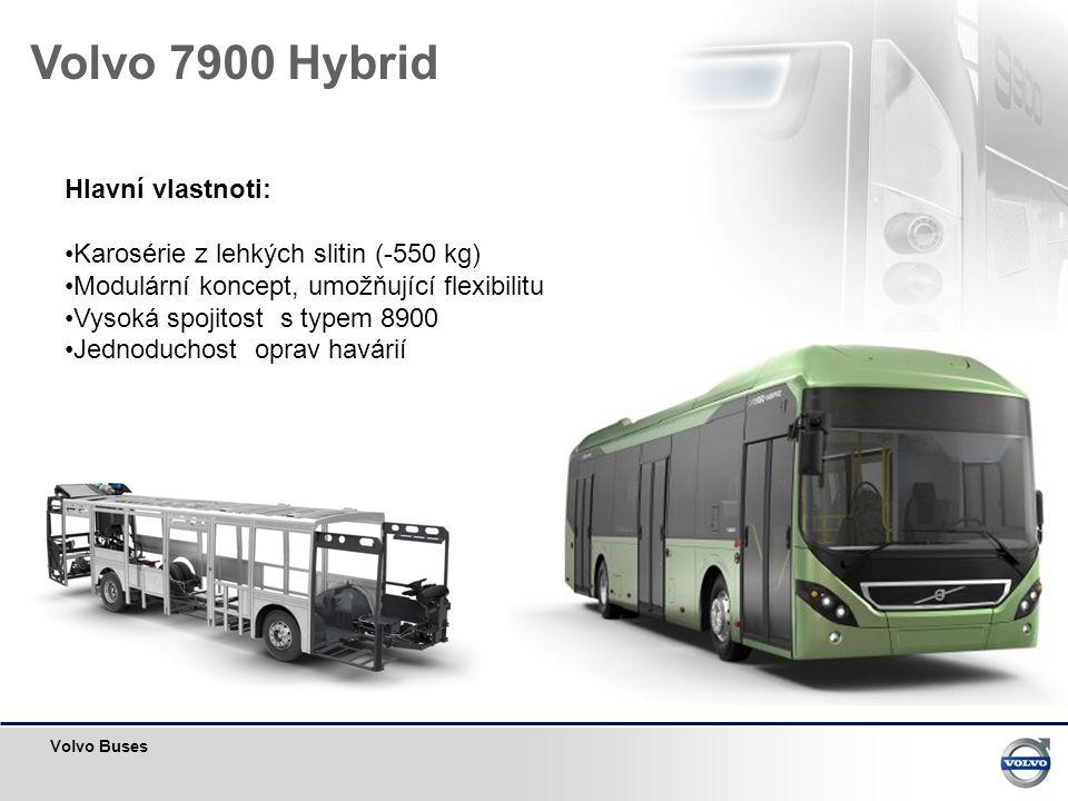 Volvo 7900 Hybrid Hlavní vlastnoti:
