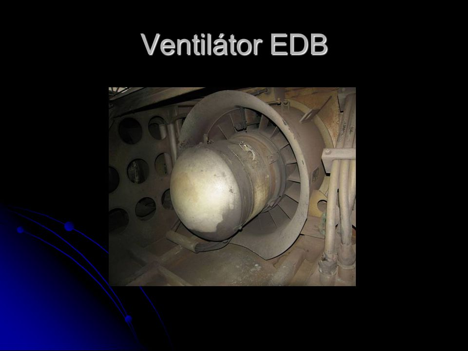 Ventilátor EDB