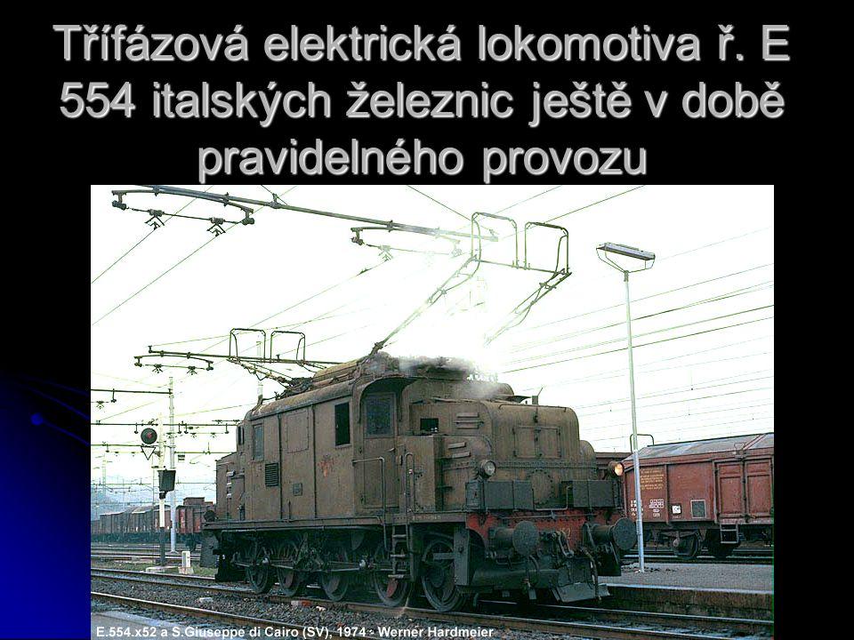 Třífázová elektrická lokomotiva ř