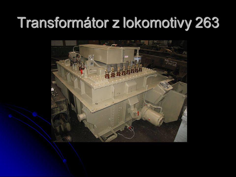Transformátor z lokomotivy 263