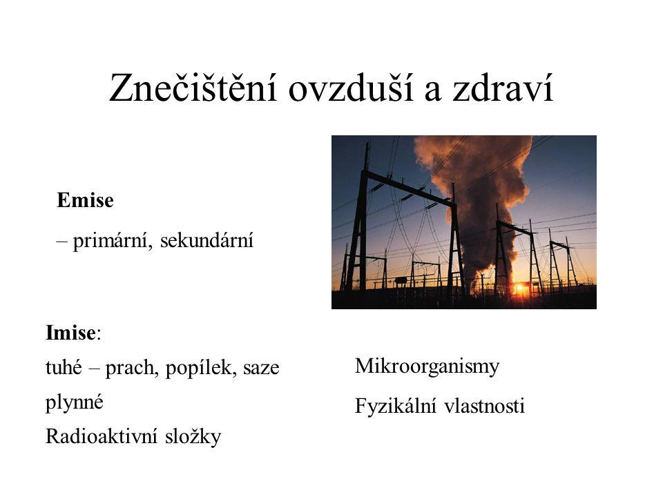 Znečištění ovzduší a zdraví