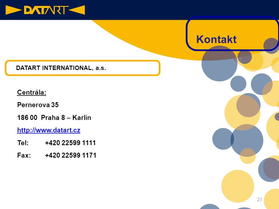 DATART INTERNATIONAL, a.s.