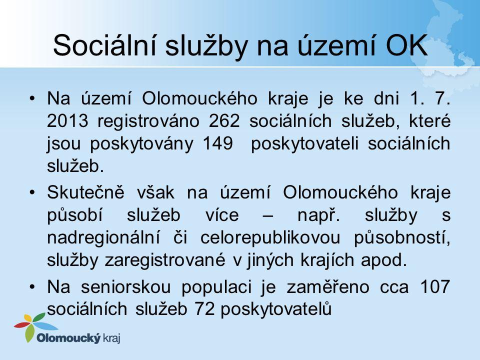 Sociální služby na území OK