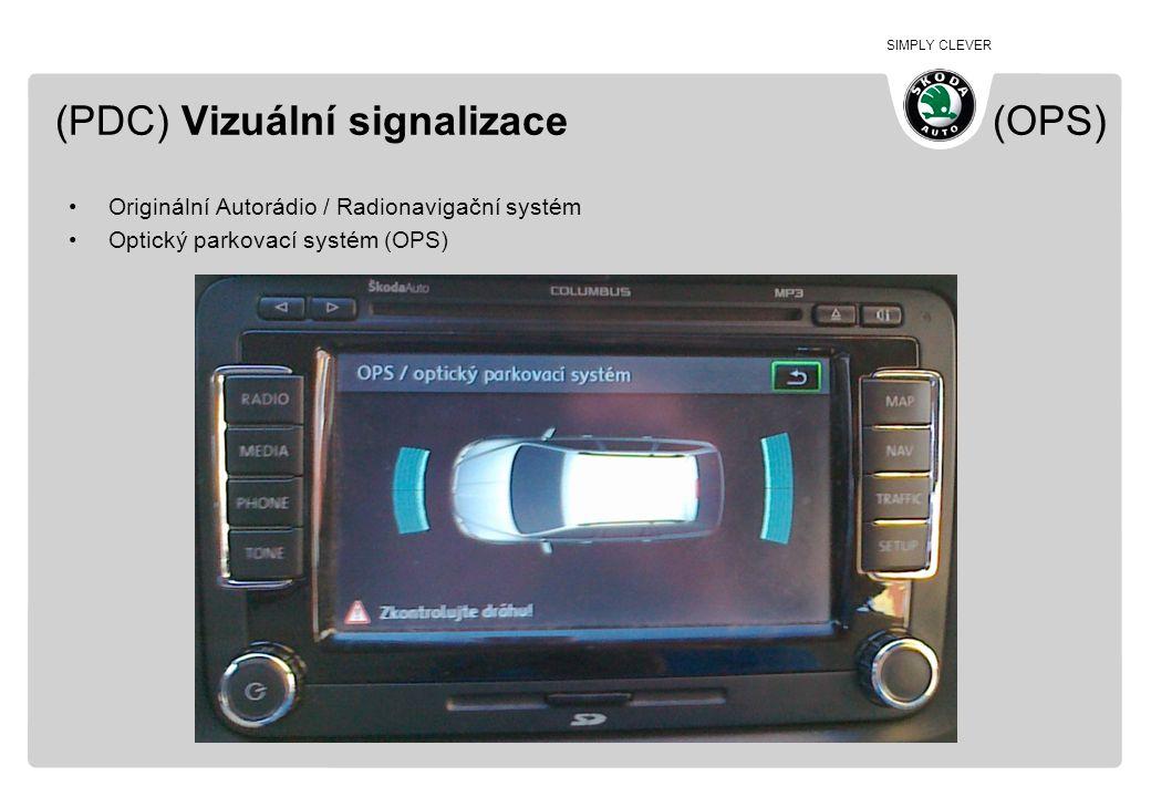 (PDC) Vizuální signalizace (OPS)