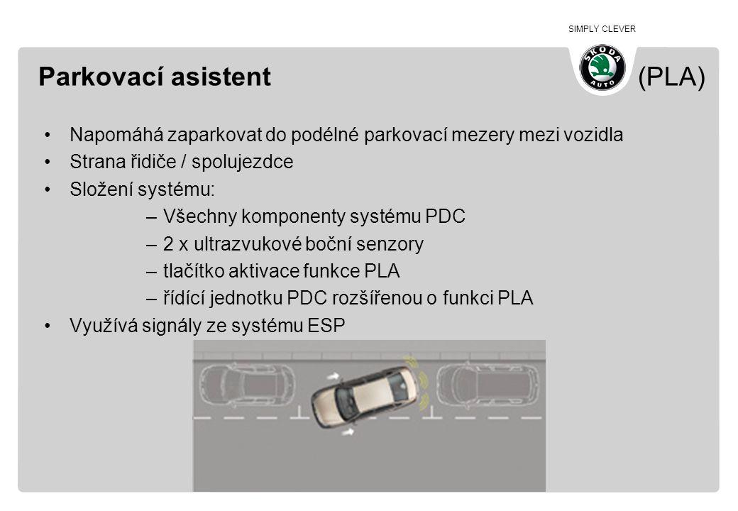 Parkovací asistent (PLA)