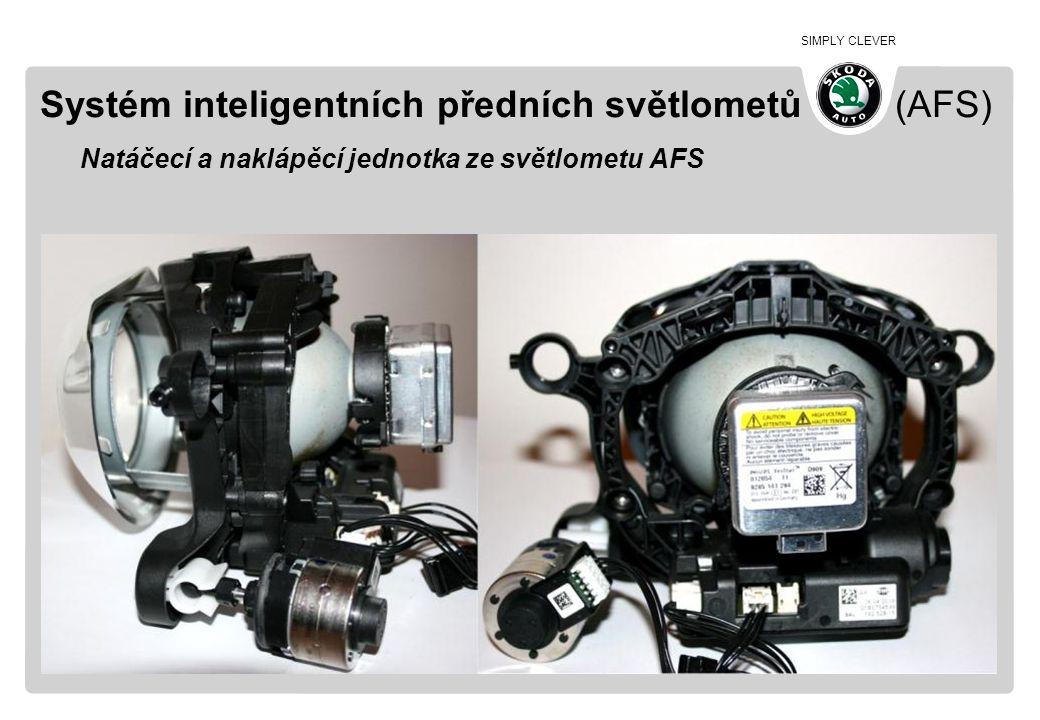 Systém inteligentních předních světlometů (AFS) Natáčecí a naklápěcí jednotka ze světlometu AFS