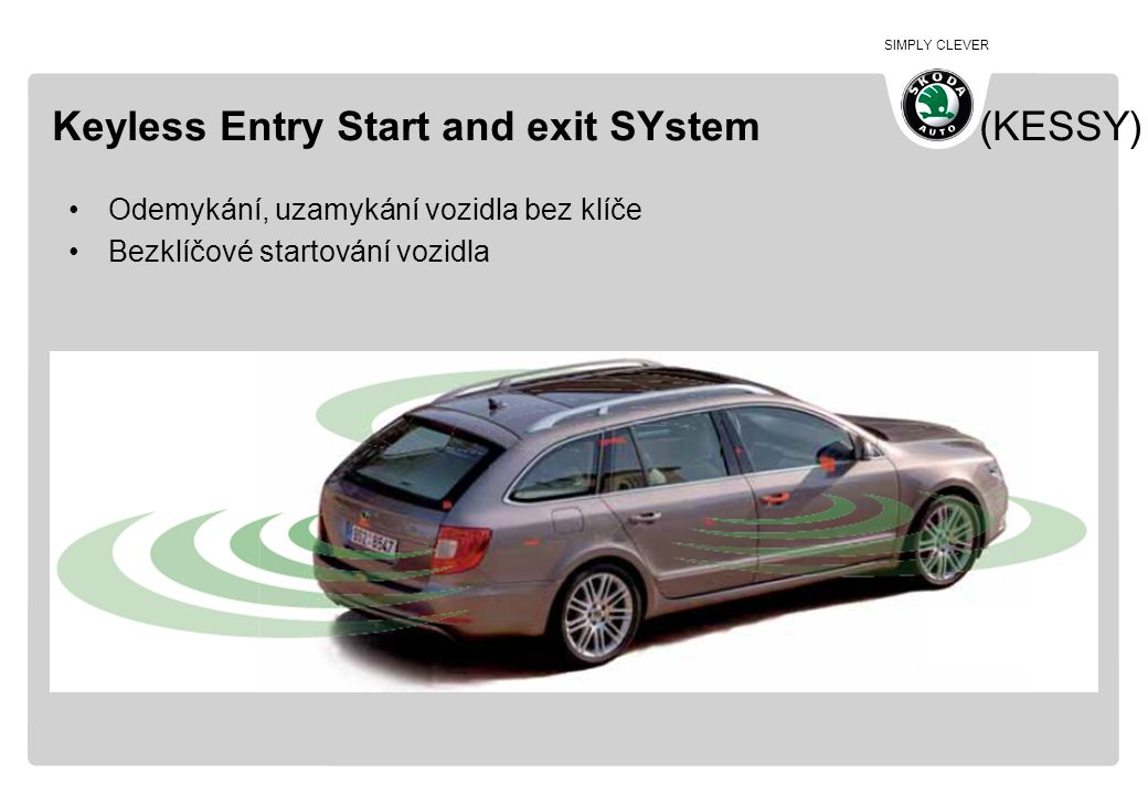 Keyless Entry Start and exit SYstem (KESSY)
