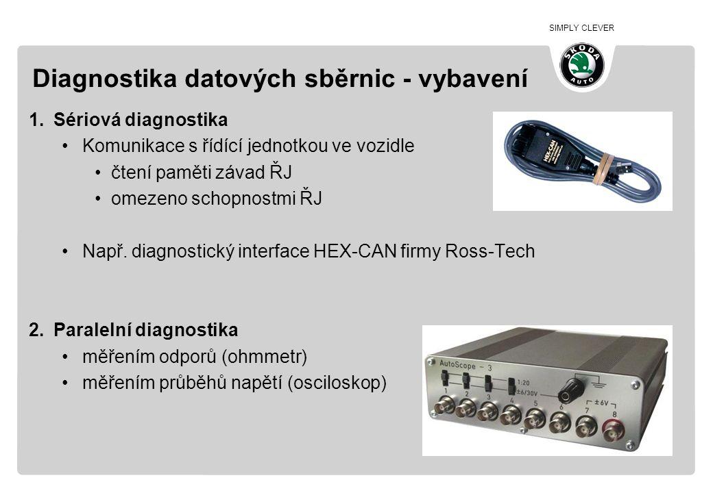 Diagnostika datových sběrnic - vybavení