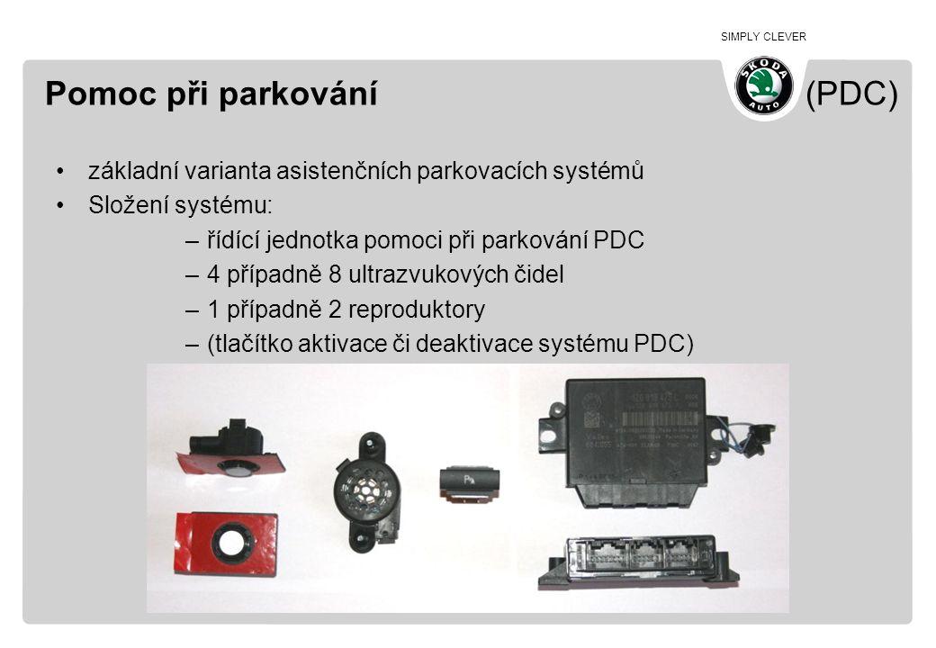 Pomoc při parkování (PDC)