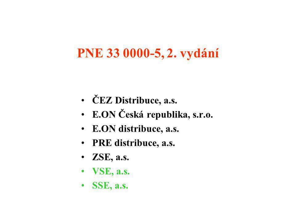 PNE 33 0000-5, 2. vydání ČEZ Distribuce, a.s.