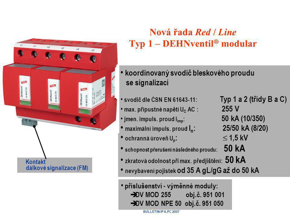 Nová řada Red / Line Typ 1 – DEHNventil modular