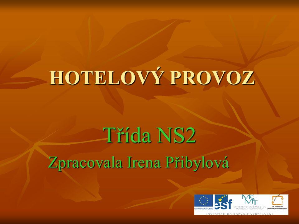 Třída NS2 Zpracovala Irena Přibylová