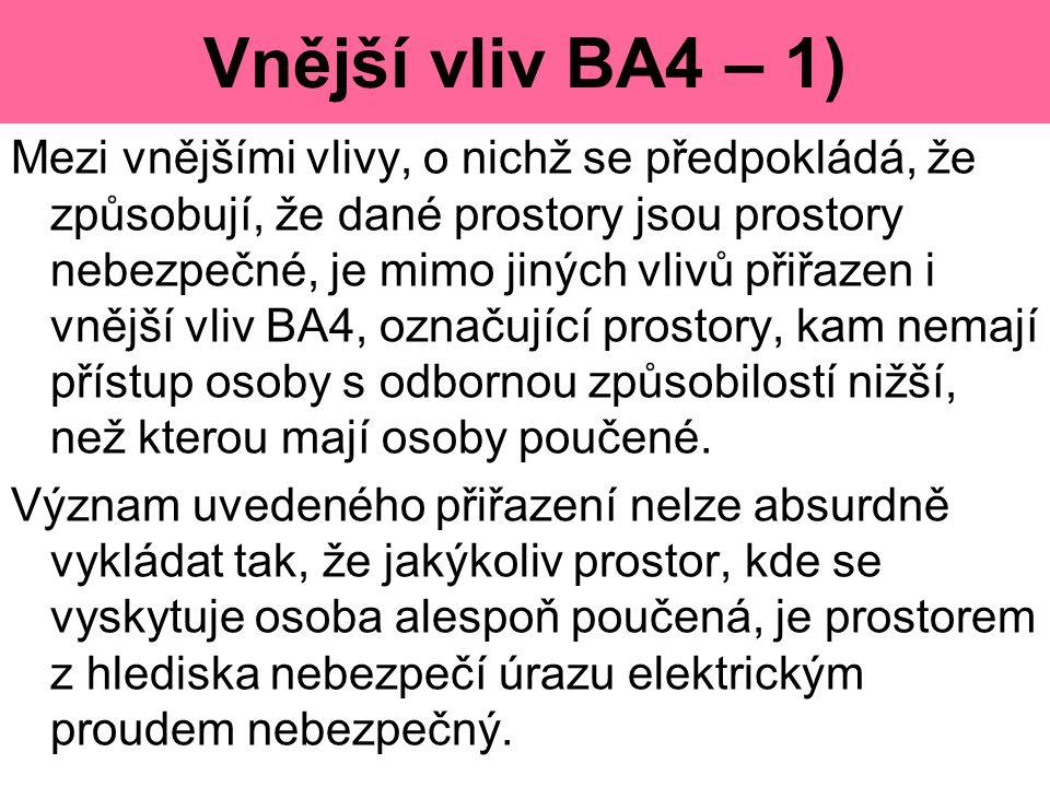 Vnější vliv BA4 – 1)