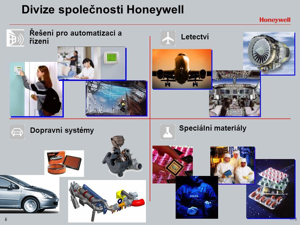 Divize společnosti Honeywell