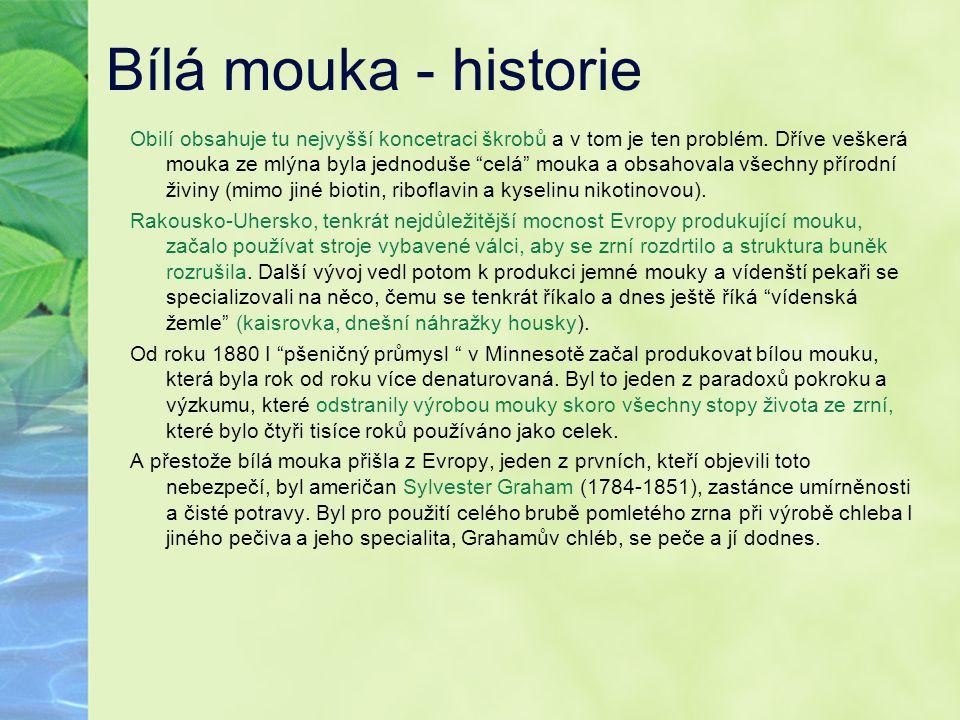 Bílá mouka - historie