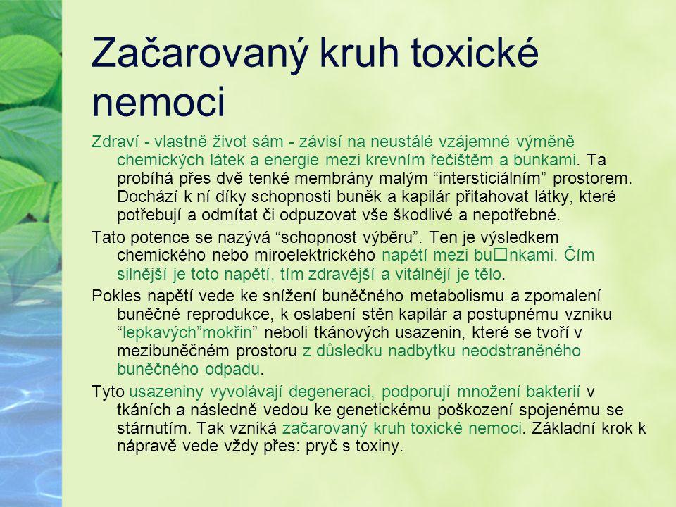 Začarovaný kruh toxické nemoci