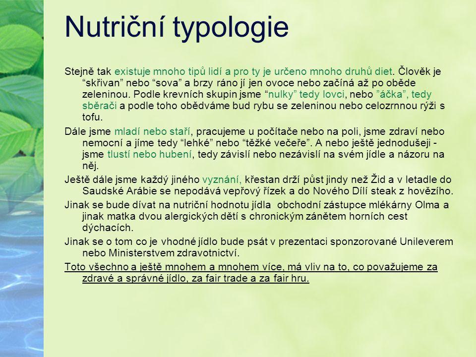 Nutriční typologie
