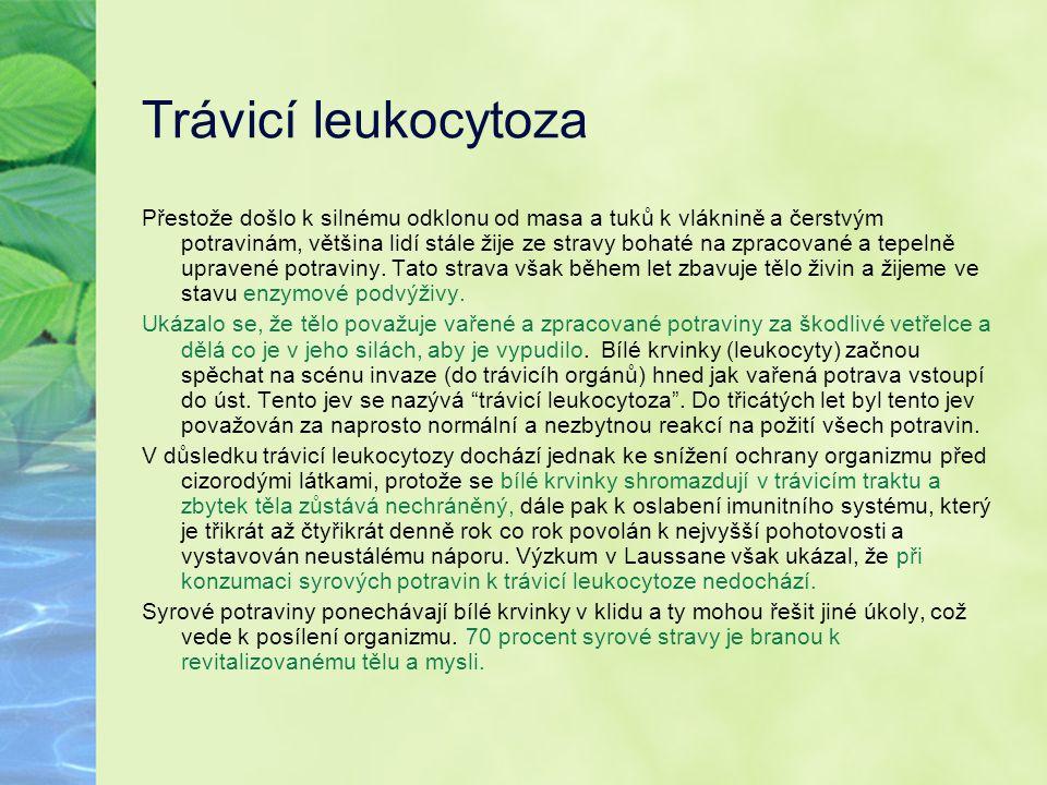 Trávicí leukocytoza