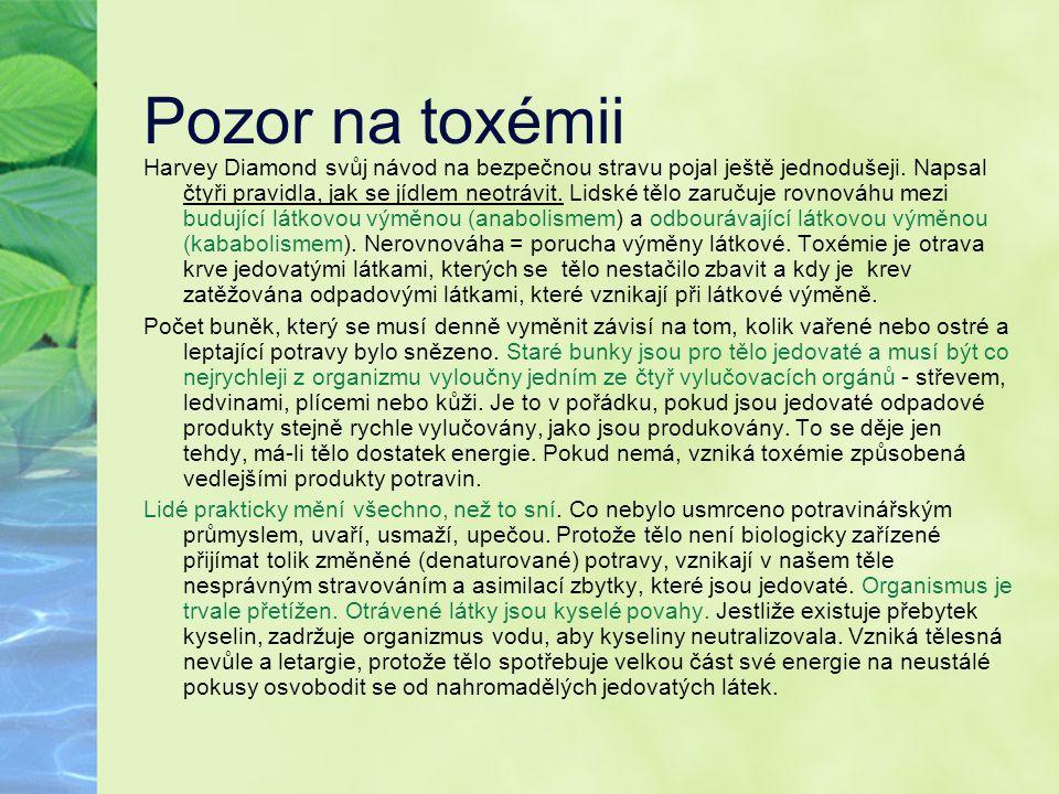 Pozor na toxémii